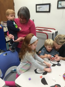 Pre-school storytime, January, 2015