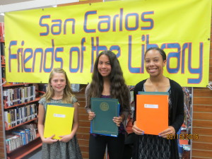 L to R: Meredith Eaton (Green), Victoria Crisologo (PHHS), Noelle Stewart (PHHS)