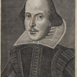 DroeshoutPortrait_FirstFolioFolger_Shakespeare